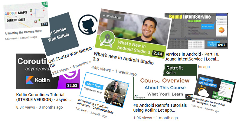 The Best YouTube Channels to Learn Android Development in
